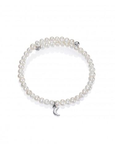 Pulsera Viceroy comunión niña de plata con perlas