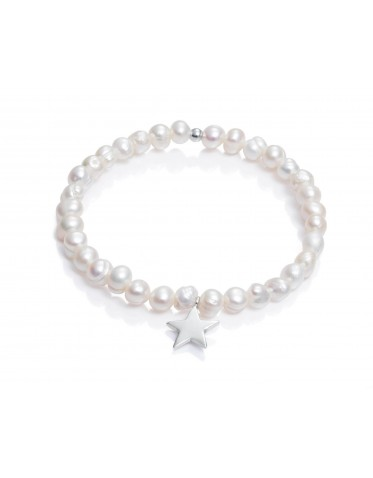 Pulsera Viceroy comunión de niña en plata y perlas