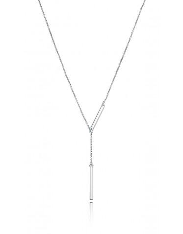 Collar Viceroy de mujer en plata ajustable
