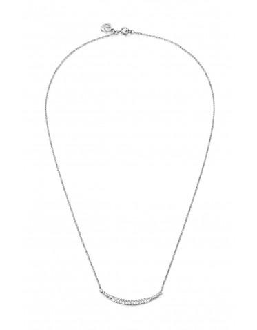 Collar Viceroy mujer en plata con centro circonitas