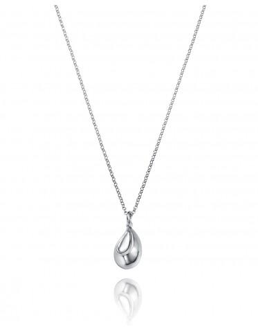 Collar Viceroy mujer de plata con colgante forma de gota