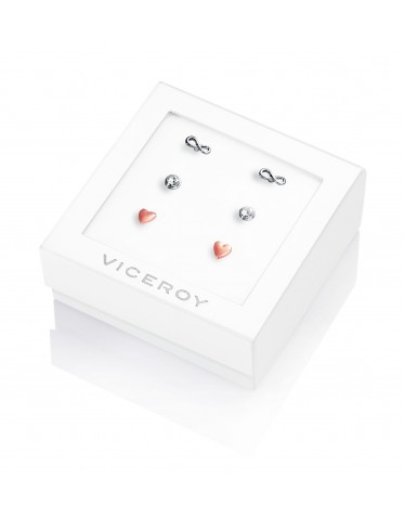 Pack tres pendientes Viceroy de mujer