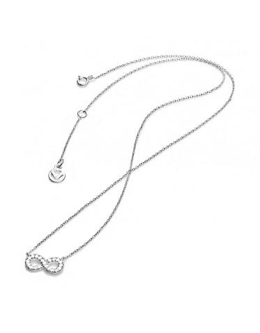 Collar Viceroy mujer de plata con colgante del infinito