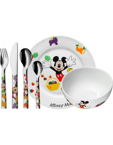 Set de vajilla porcelana Mickey Mouse diseñada por Disney