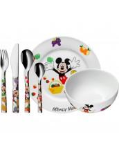 Vajilla Mickey Mouse diseñada por Disney