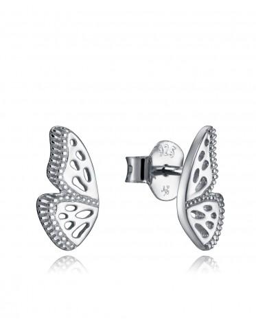 Pendientes  Viceroy  mujer de plata alas de mariposa
