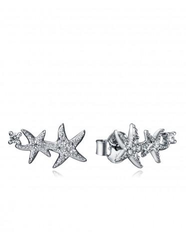 Pendientes Viceroy mujer en plata con estrellas de mar