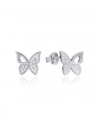 Pendientes Viceroy mujer de plata forma mariposa