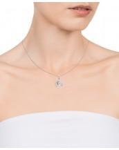Collar Viceroy mujer de plata con colgante del árbol de la vida