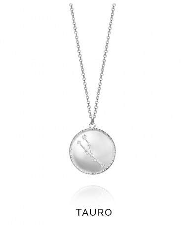 Collar Viceroy mujer de plata formado con la contelación del horóscopo